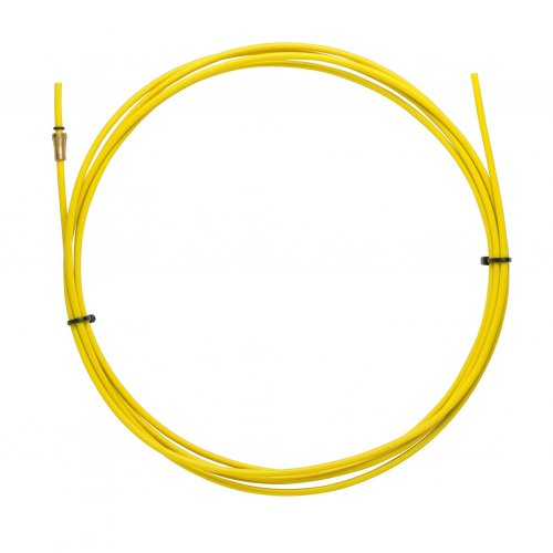 YELLOW TEFLON liner 2,5 X 4,5 L.4400 wire 1,2/1,6