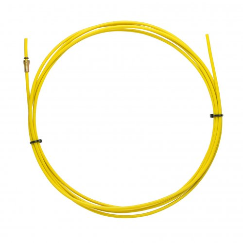 YELLOW TEFLON liner 2,5 X 4,5 L.5400 wire 1,2/1,6