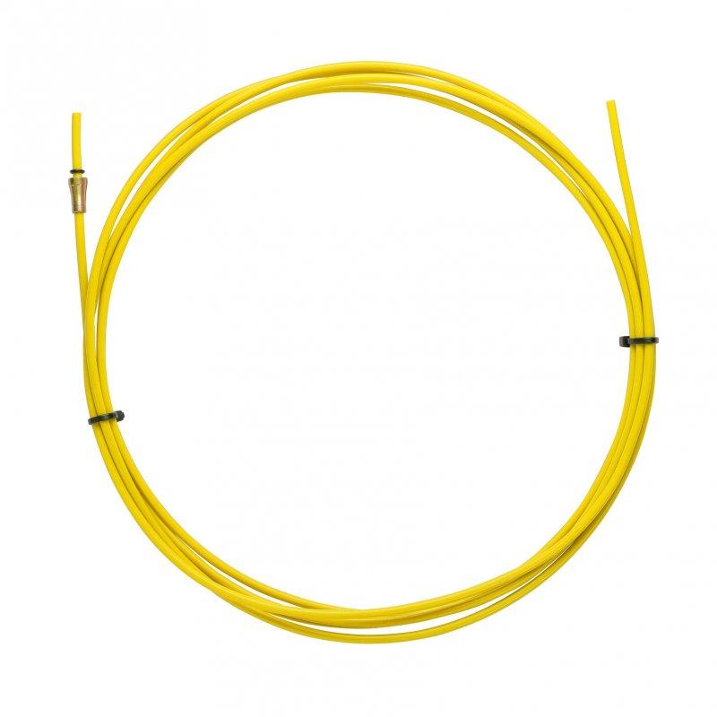 YELLOW TEFLON liner 2,5 X 4,5 L.5400 wire 1,2/1,6
