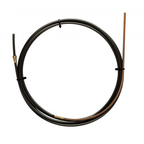 BLACK TEFLON liner 2,3 X 4,7 L.5400 with bronze liner for wire 1,2/1,6