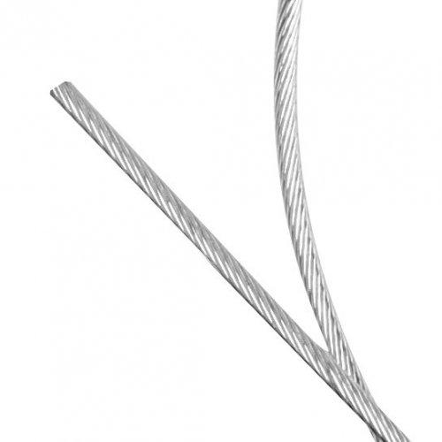 Cable en aciero galvanizado 2,5X19 L.1000 mm sin ojal - freno trasero VESPA