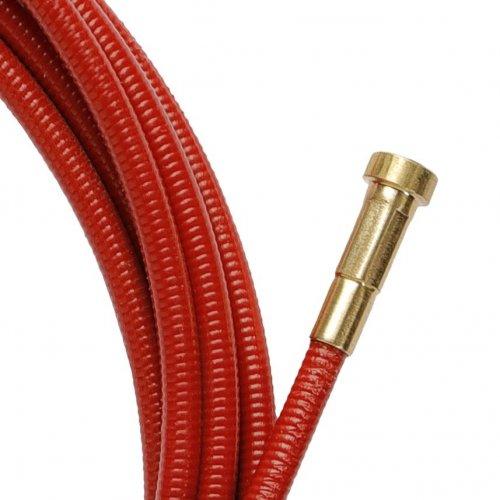 Guaina Guidafilo Rossa Compatibile Binzel L. 5400 Filo Ø 1,0/1,2
