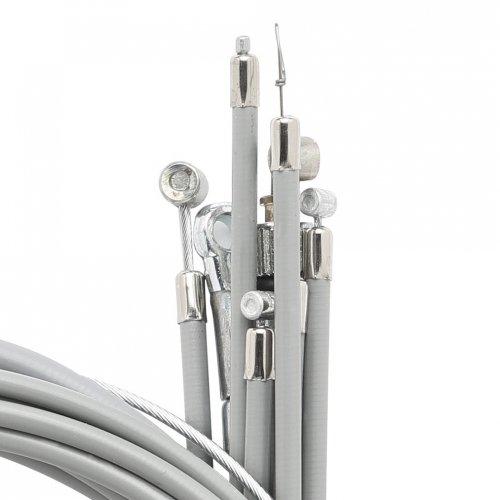 Komplette Seilzüge Kit für Vespa-50/90 Modellen mit tachometer
