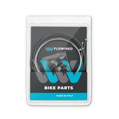 KIT Shifter/Derailleur SHIMANO-SRAM stainless steel