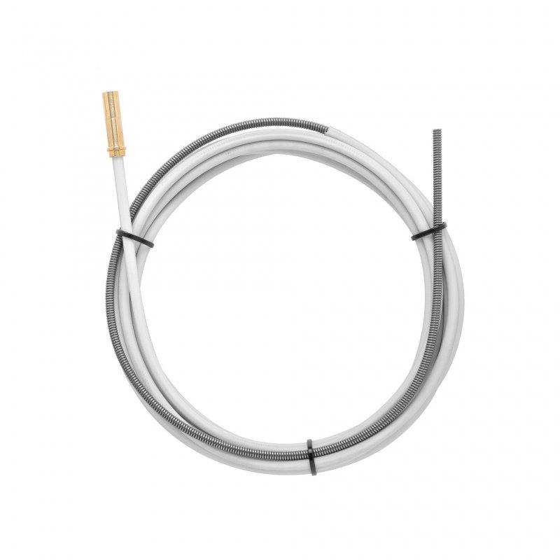 Weiße Drahtführungßpiralen kompatibel KEMPPI 4188575 L.6200
