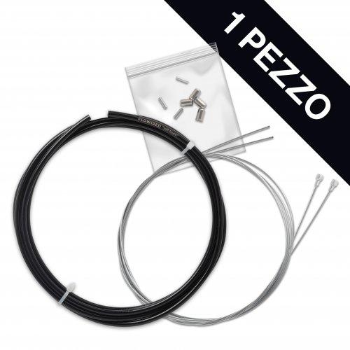 KIT Frenos de bicicleta de Carreras PERSONALIZADO, Cables de acero galvanizado, 1 paquete