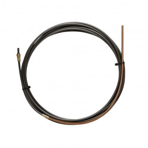 NYLON PA12 liner BLACK L.3400 with Bronze liner for wire 1,0/1,2