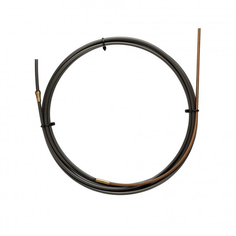 NYLON PA12 liner BLACK L.3400 with Bronze liner for wire 1,2/1,6