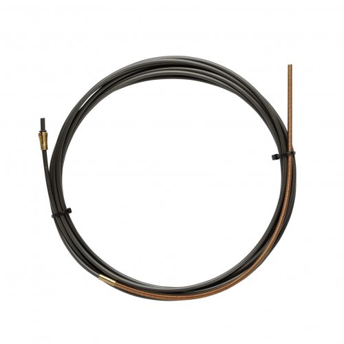 NYLON PA12 liner BLACK L.4400 with Bronze liner for wire 1,0/1,2