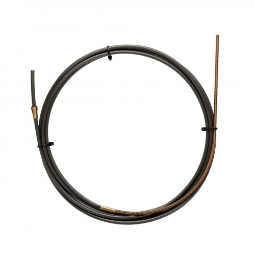 NYLON PA12 liner BLACK L.4400 with Bronze liner for wire 1,2/1,6