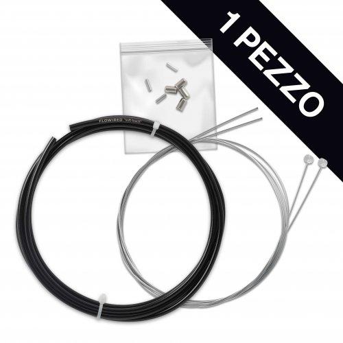 KIT Frenos MTB PERSONALIZADO, Cables de acero inoxidable, 1 paquete