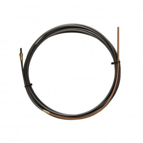 Guaina Nylon PA12 Nera L.5400 Con Terminale Filo 1,0/1,2
