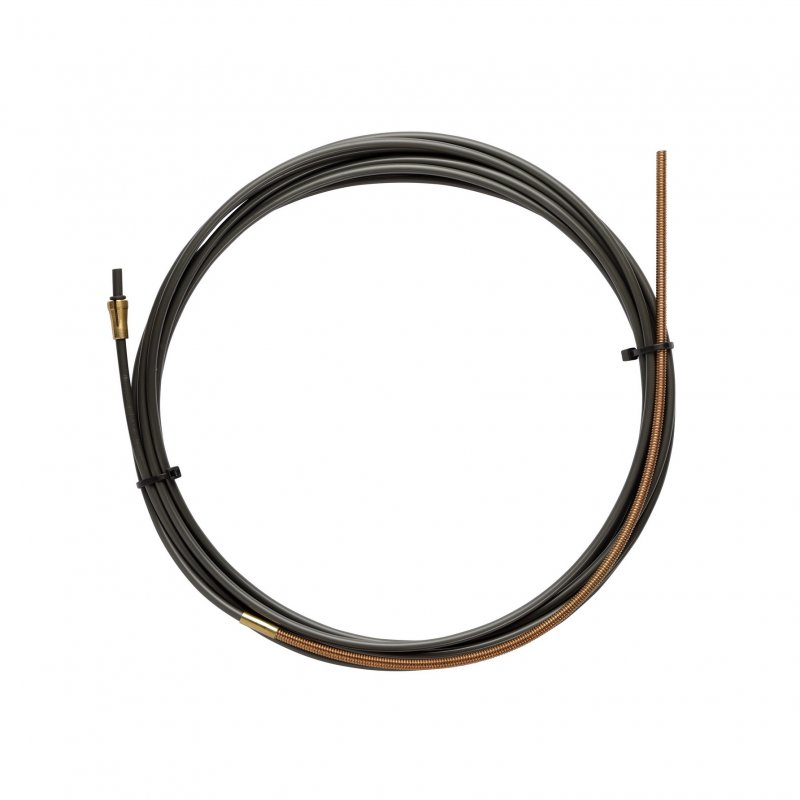 NYLON PA12 liner BLACK L.5400 with Bronze liner for wire 1,0/1,2