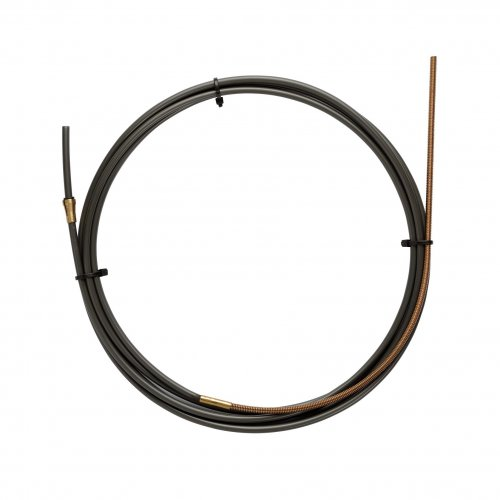 NYLON PA12 liner BLACK L.5400 with Bronze liner for wire 1,2/1,6