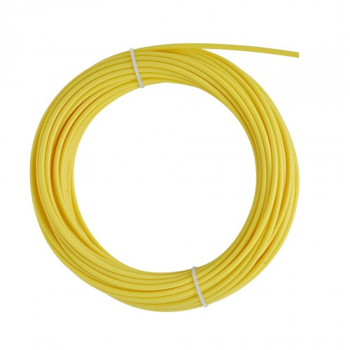25 mt YELLOW TEFLON LINER 2,5x4,5 wire 1,2/1,6