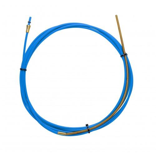 Guaina Teflon Blu 1,5 X 4,0 L. 5400 Con Terminale In Bronzo - Filo Ø 0,6/0,9