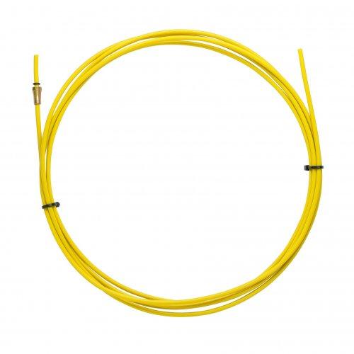 Gaines JAUNE TEFLON 2,5 X 4,5 L.3400 fil 1,2/1,6