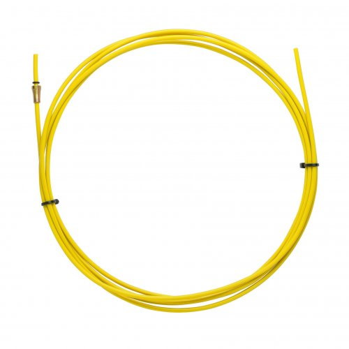 YELLOW TEFLON liner 2,5 X 4,5 L.3400 wire 1,2/1,6